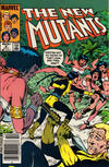 Cover Thumbnail for The New Mutants (1983 series) #8 [Newsstand Edition]