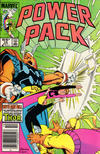 Cover for Power Pack (Marvel, 1984 series) #15 [Newsstand Edition]
