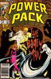 Cover for Power Pack (Marvel, 1984 series) #14 [Newsstand Edition]