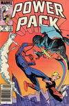 Cover for Power Pack (Marvel, 1984 series) #6 [Newsstand]