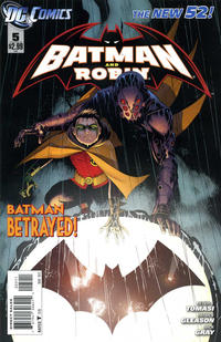 Cover Thumbnail for Batman and Robin (DC, 2011 series) #5 [Direct Sales]