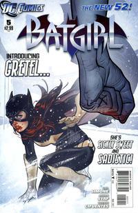 Cover Thumbnail for Batgirl (DC, 2011 series) #5 [Direct]