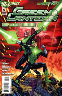 Cover Thumbnail for Green Lantern (DC, 2011 series) #5 [Direct Sales]