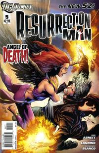 Cover Thumbnail for Resurrection Man (DC, 2011 series) #5