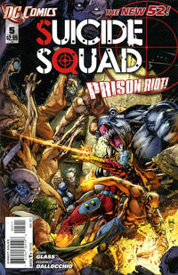 Cover Thumbnail for Suicide Squad (DC, 2011 series) #5