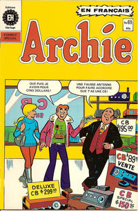 Cover Thumbnail for Archie (Editions Héritage, 1971 series) #69