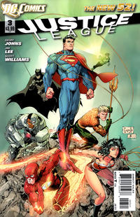 Cover Thumbnail for Justice League (DC, 2011 series) #3 [Greg Capullo variant cover]