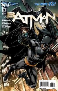 Cover Thumbnail for Batman (DC, 2011 series) #3 [Ivan Reis Variant Cover]