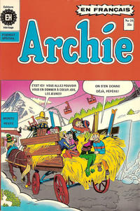 Cover Thumbnail for Archie (Editions Héritage, 1971 series) #59