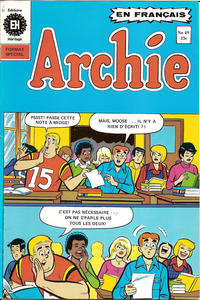 Cover Thumbnail for Archie (Editions Héritage, 1971 series) #49
