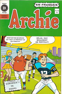 Cover Thumbnail for Archie (Editions Héritage, 1971 series) #56