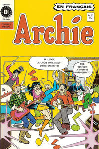 Cover Thumbnail for Archie (Editions Héritage, 1971 series) #57