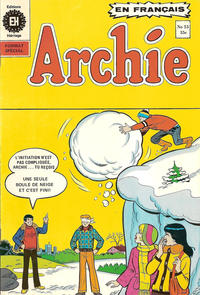 Cover Thumbnail for Archie (Editions Héritage, 1971 series) #53