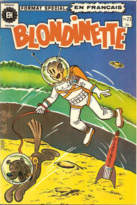 Cover Thumbnail for Blondinette (Editions Héritage, 1975 series) #23