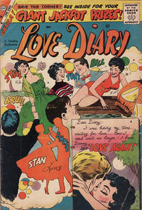 Cover Thumbnail for Love Diary (Charlton, 1958 series) #4