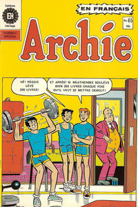 Cover Thumbnail for Archie (Editions Héritage, 1971 series) #65