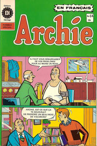 Cover Thumbnail for Archie (Editions Héritage, 1971 series) #64