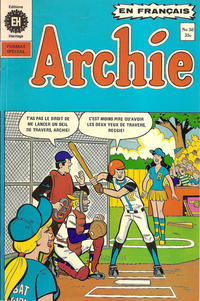 Cover Thumbnail for Archie (Editions Héritage, 1971 series) #58