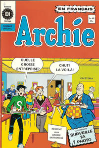 Cover Thumbnail for Archie (Editions Héritage, 1971 series) #48