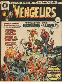Cover Thumbnail for Les Vengeurs (Editions Héritage, 1974 series) #2