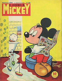 Cover Thumbnail for Le Journal de Mickey (Hachette, 1952 series) #355