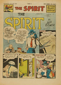Cover Thumbnail for The Spirit (Register and Tribune Syndicate, 1940 series) #4/30/1950