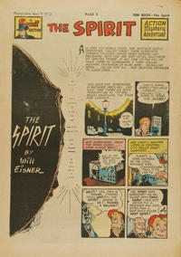 Cover Thumbnail for The Spirit (Register and Tribune Syndicate, 1940 series) #4/9/1950