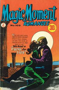 Cover Thumbnail for Magic Moment Romances (K. G. Murray, 1958 series) #103
