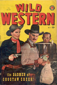 Cover Thumbnail for Wild Western (Bell Features, 1948 series) #9
