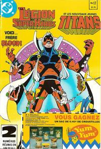 Cover Thumbnail for La Légion des Super Héros et les Nouveaux Jeunes Titans (Editions Héritage, 1984 series) #17
