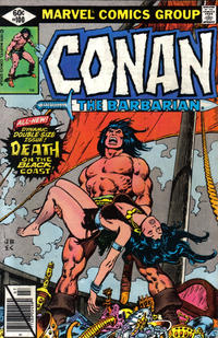 Cover Thumbnail for Conan the Barbarian (Marvel, 1970 series) #100 [Direct Edition]