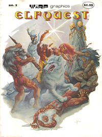 Cover Thumbnail for ElfQuest (WaRP Graphics, 1978 series) #1 [$1.25 later printing]