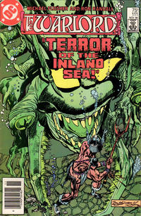 Cover Thumbnail for Warlord (DC, 1976 series) #111 [Newsstand Edition]