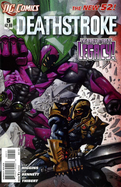 Cover for Deathstroke (DC, 2011 series) #5
