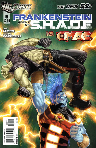Cover for Frankenstein, Agent of S.H.A.D.E. (DC, 2011 series) #5