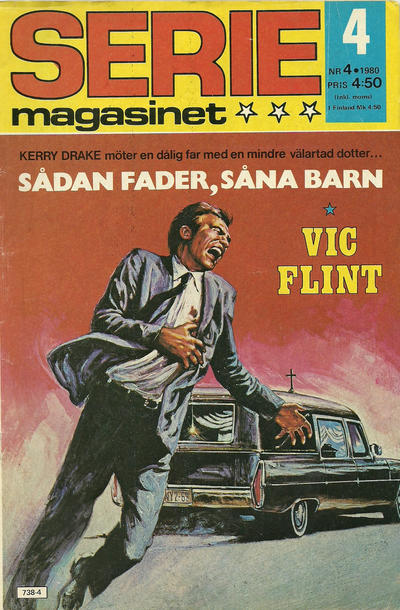 Cover for Seriemagasinet (Semic, 1970 series) #4/1980