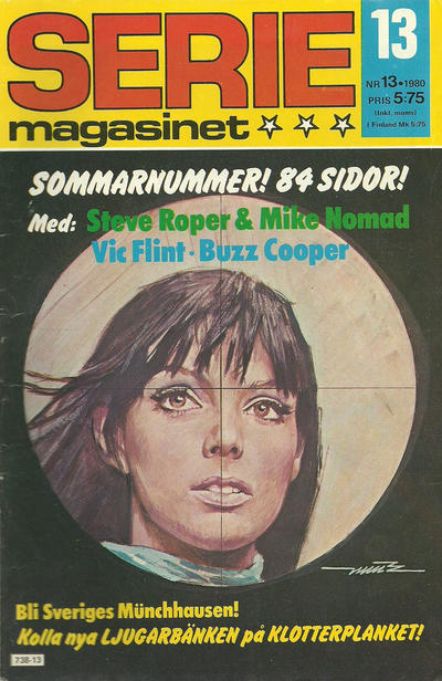 Cover for Seriemagasinet (Semic, 1970 series) #13/1980
