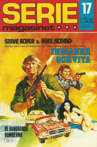 Cover for Seriemagasinet (Semic, 1970 series) #17/1980