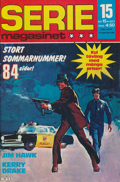 Cover for Seriemagasinet (Semic, 1970 series) #15/1977