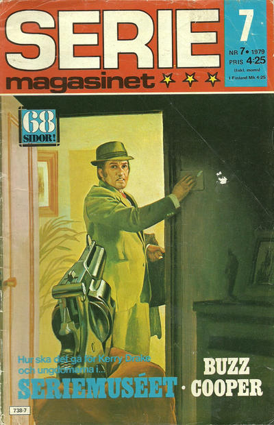 Cover for Seriemagasinet (Semic, 1970 series) #7/1979
