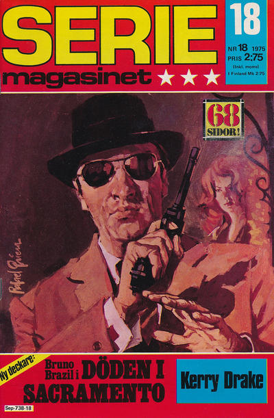Cover for Seriemagasinet (Semic, 1970 series) #18/1975