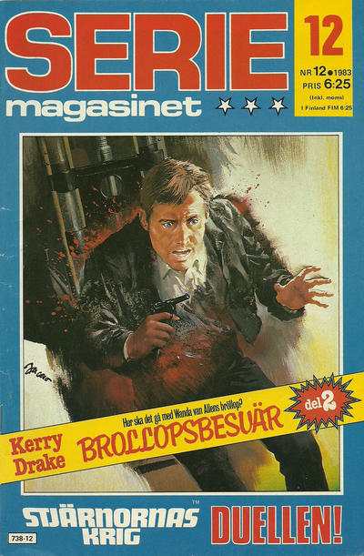 Cover for Seriemagasinet (Semic, 1970 series) #12/1983