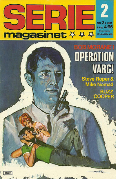 Cover for Seriemagasinet (Semic, 1970 series) #2/1981