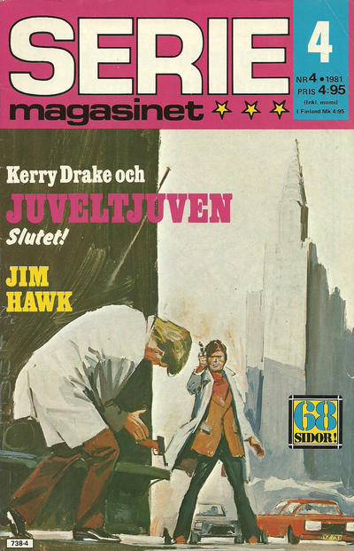 Cover for Seriemagasinet (Semic, 1970 series) #4/1981