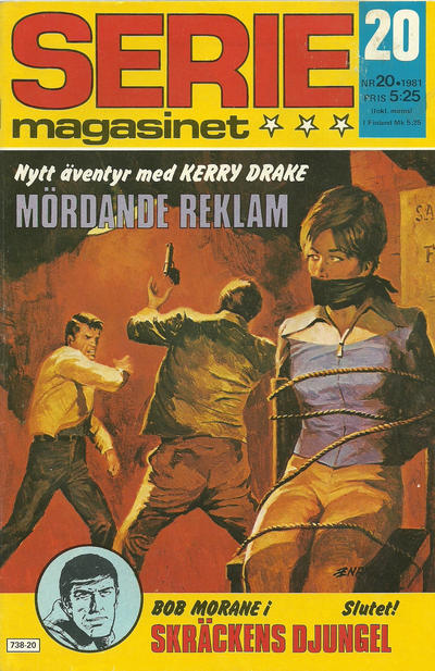 Cover for Seriemagasinet (Semic, 1970 series) #20/1981