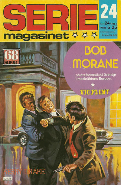 Cover for Seriemagasinet (Semic, 1970 series) #24/1981
