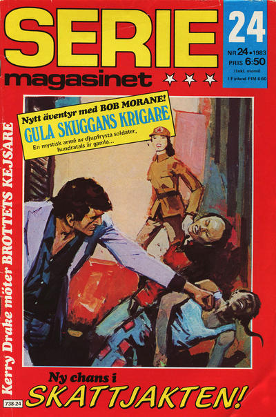 Cover for Seriemagasinet (Semic, 1970 series) #24/1983