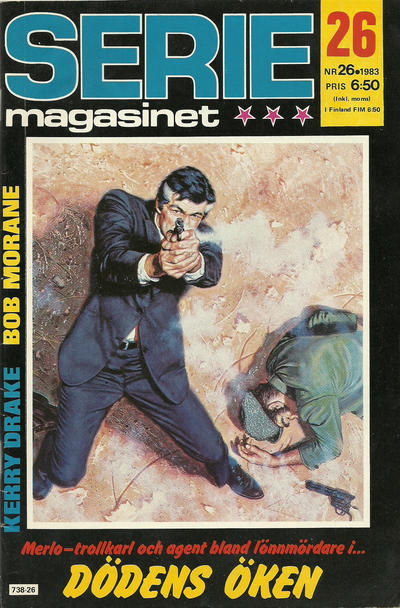Cover for Seriemagasinet (Semic, 1970 series) #26/1983