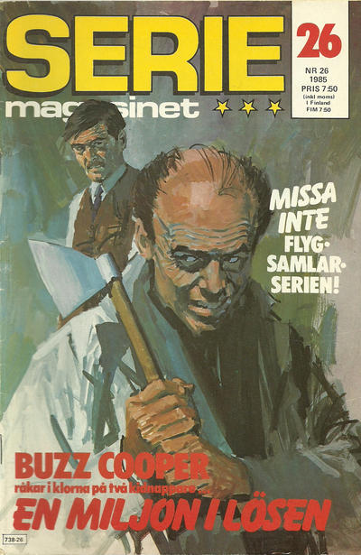 Cover for Seriemagasinet (Semic, 1970 series) #26/1985