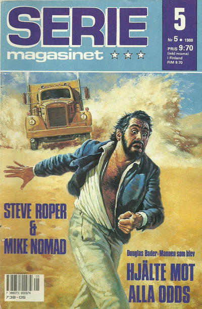 Cover for Seriemagasinet (Semic, 1970 series) #5/1988